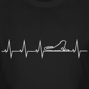 I love lizards - heartbeat T-Shirts - Men's Organic T-shirt