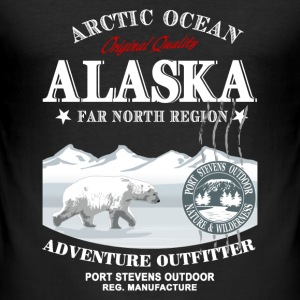 Alaska Polar Bear T-Shirts - Männer Slim Fit T-Shirt