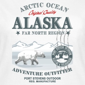 Alaska Polar Bear T-Shirts - Frauen T-Shirt