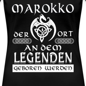 LEGENDE MAROKKO - Shirt Damen - Frauen Premium T-Shirt