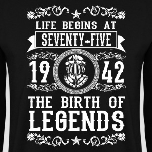 1942 - 75 years - Legends - 2017 Sweat-shirts - Sweat-shirt Homme