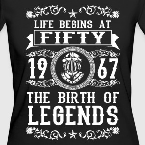 1967- 50 years - Legends - 2017 Camisetas - Camiseta ecológica mujer