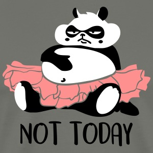 Not today procrastination Panda T-Shirts - Männer Premium T-Shirt