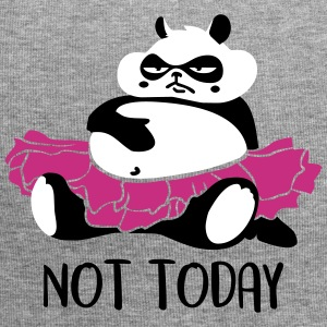 Not today procrastination Panda Caps & Mützen - Jersey-Beanie