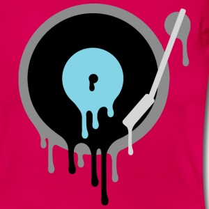 Melting Vinyl DJ T-Shirts - Women's T-Shirt