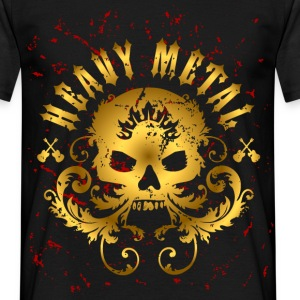 Heavy Metal Skull T-Shirt - Men's - Men's T-Shirt