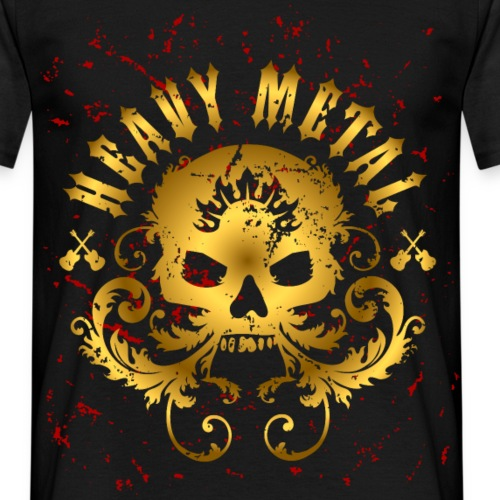 Heavy Metal Skull