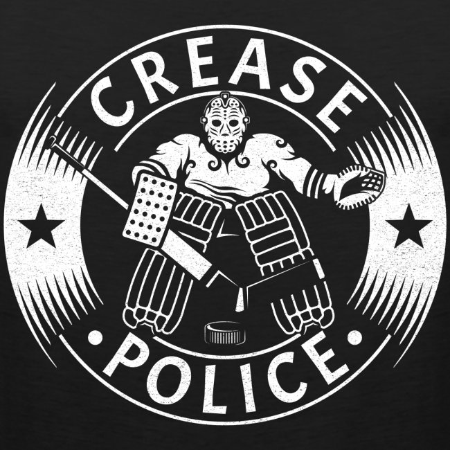 Crease Police Men's Vest Top