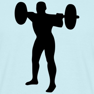 Weightlifter, weightlifting T-shirts - T-shirt herr