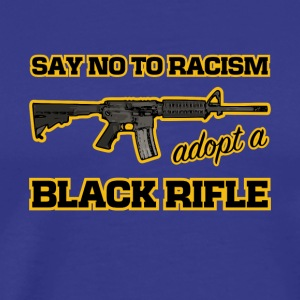 adopt a black rifle funny joke - Men's Premium T-Shirt