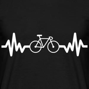 Bike is life, Cykel, t-shirt  - Herre-T-shirt