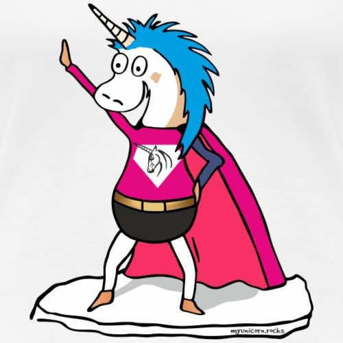 Superhero Unicorn - Einhorn Superheld