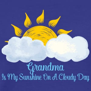 Grandma Is My Sunshine On A Cloudy Day - Men's Premium T-Shirt