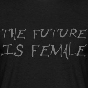the future is female - Männer T-Shirt