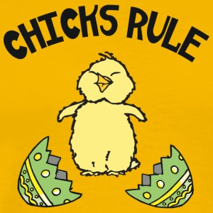 Easter Chicks Rule - Men's Premium T-Shirt