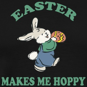 Easter Makes Me Hoppy - Men's Premium T-Shirt