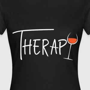 Therapy Wein - Frauen T-Shirt
