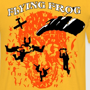 Parachutisme Team Flyingfrog - T-shirt Homme