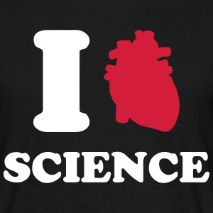 I love Science T-shirts - Herre-T-shirt