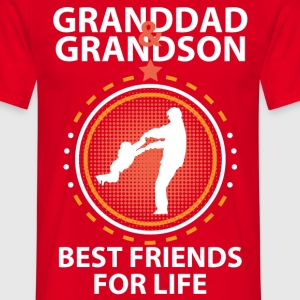 Granddad And Grandson Best Friends For Life T-Shirts - Men's T-Shirt