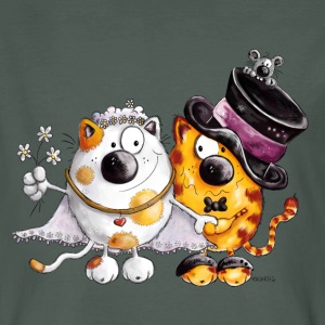 Cat Wedding T-Shirts - Men's Organic T-shirt