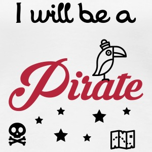 Pirate - Kid - Baby - Bébé - Birth - Gift - Boy T-Shirts - Women's Premium T-Shirt