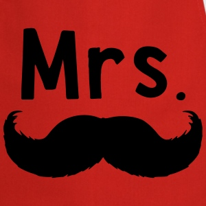 Mrs moustache - Tablier de cuisine
