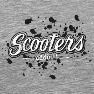 oil splash scooter addict - T-shirt Premium Homme