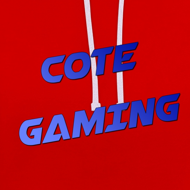 Cote Sweater Blauwe Letters