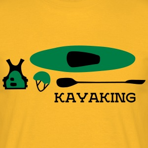 kayak equipment T-Shirts - Männer T-Shirt