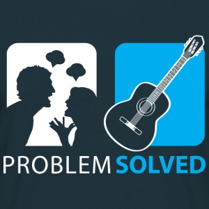 Problem Solved Guitar T-Shirts - Men's T-Shirt