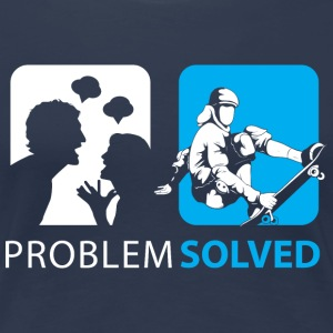 Problem Solved Skateboard  T-Shirts - Women's Premium T-Shirt