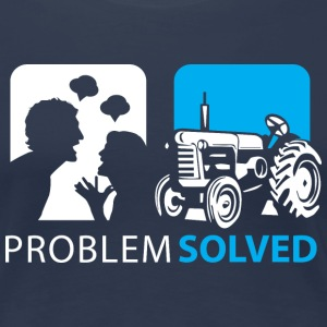 Problem Solved Tracker  T-Shirts - Women's Premium T-Shirt