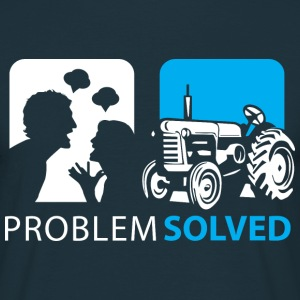 Problem Solved Tracker  T-Shirts - Men's T-Shirt
