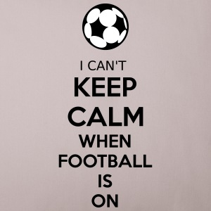 I Can't Keep Calm When Football Is On Sonstige - Sofakissenbezug 44 x 44 cm