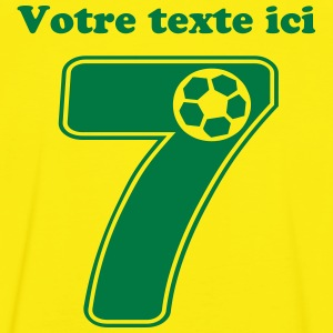 foot numero 7 Tee shirts - T-shirt contraste Homme