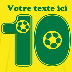 foot numero 10 Tee shirts - T-shirt contraste Homme