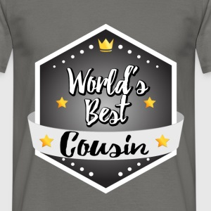 World's best Cousin - Men's T-Shirt