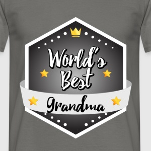 World's best Grandma - Men's T-Shirt
