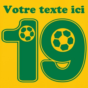 foot numero 19 Tee shirts - Maillot de football Homme