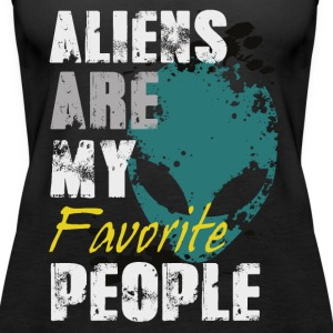 Aliens are my favorite Tops - Frauen Premium Tank Top