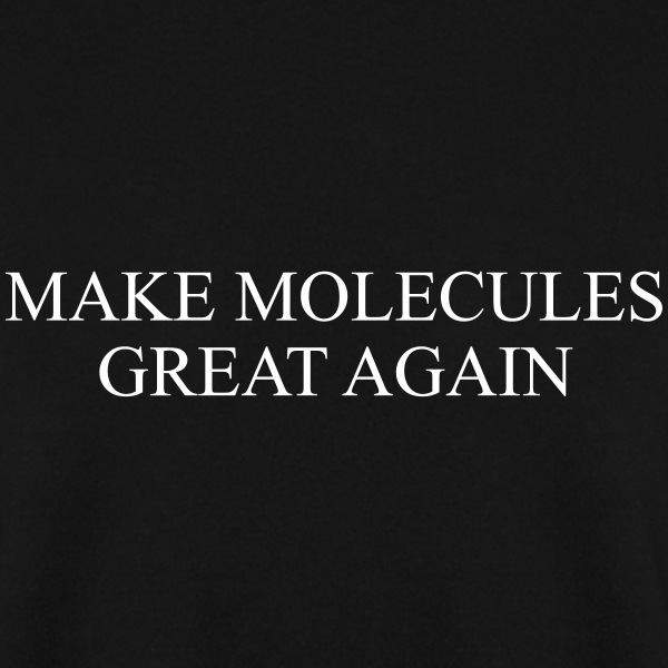 MAKE MOLECULE GREAT AGAIN Hoodies & Sweatshirts - Men's Sweatshirt