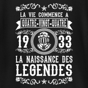 1933 - 84 ans - Légendes - 2017 Tee shirts manches longues Bébés - T-shirt manches longues Bébé
