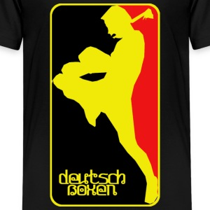 deutsch boxen T-Shirts - Teenager Premium T-Shirt
