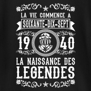 1940 - 77 ans - Légendes - 2017 Tee shirts manches longues Bébés - T-shirt manches longues Bébé
