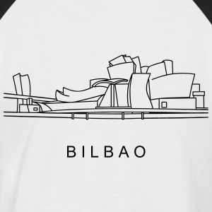 Guggenheim Museum of Bilbao T-Shirts - Men's Baseball T-Shirt