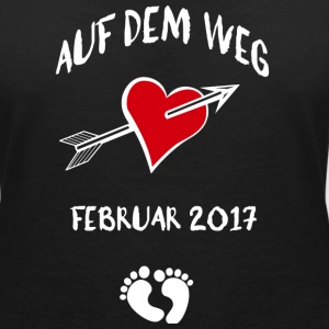 On the way (February 2017) T-Shirts - Women's V-Neck T-Shirt
