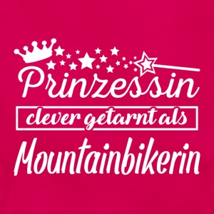 Mountainbikerin T-Shirts - Frauen T-Shirt