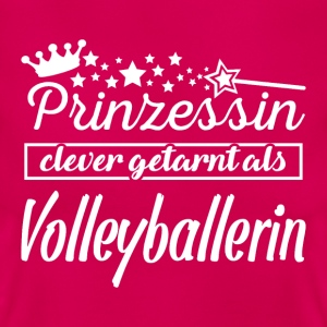 prinzessin volleyballerin T-Shirts - Frauen T-Shirt