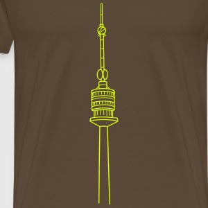 Danube Tower Vienna T-Shirts - Men's Premium T-Shirt